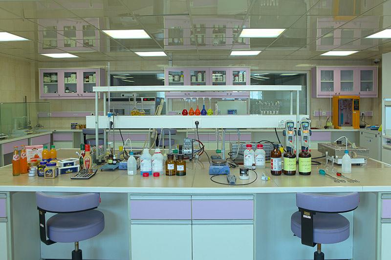 آزمایشگاه تجزیه شیمیایی