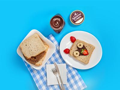 تهیه صبحانه مدرسه