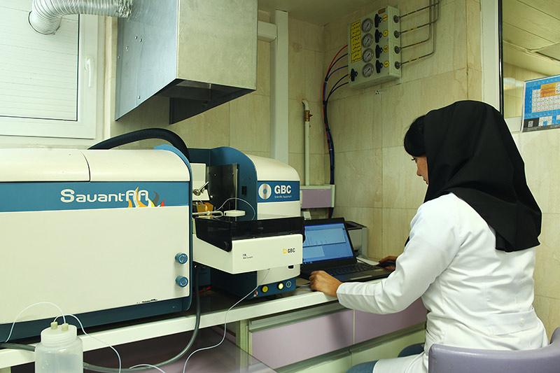 آزمایشگاه تجزیه دستگاهی
