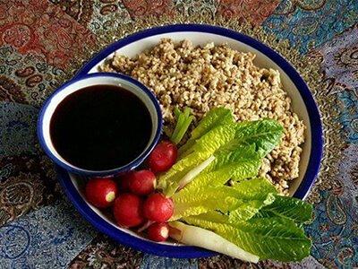 طرز تهیه پلو ارده، غذای خوزستانی